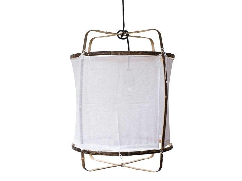 Ay Illuminate Hængelampe Z5 hvid bomuld ø42x57cm