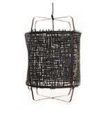 Ay Illuminate Hængelampe Z11 bambus sort karton ø48,5x72,5cm
