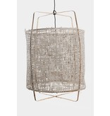 Ay Illuminate Hanglamp Z11 bamboe grijs karton ø48,5x72,5cm