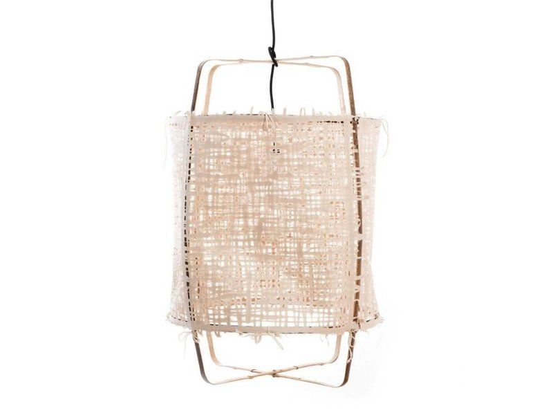 Ay Illuminate Hængelampe Z11 bambus naturlige karton ø48,5x72,5cm