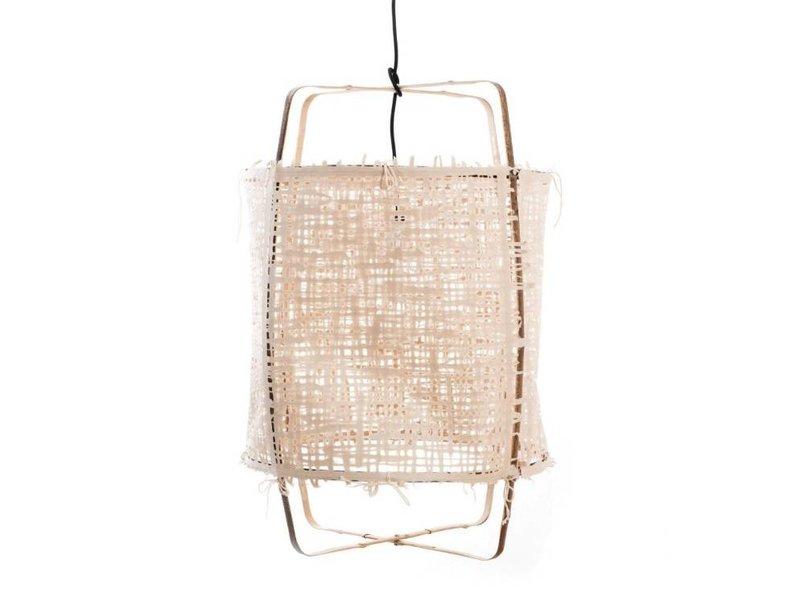 Ay Illuminate Hanglamp Z11 bamboe naturel karton ø48,5x72,5cm