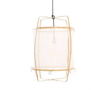Ay Illuminate Suspension Z22 blond blanc cachemire ø48,5x72,5cm