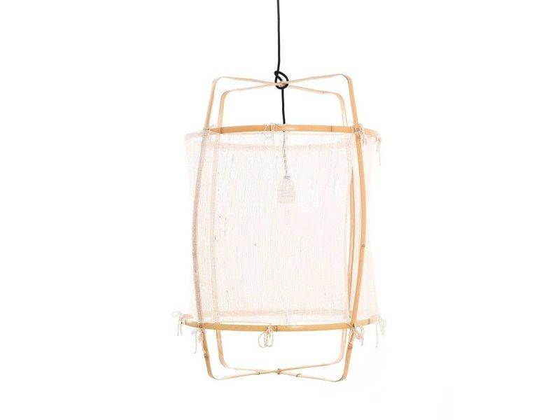 Ay Illuminate Hanging lamp Z22 blond white cashmere ø48,5x72,5cm