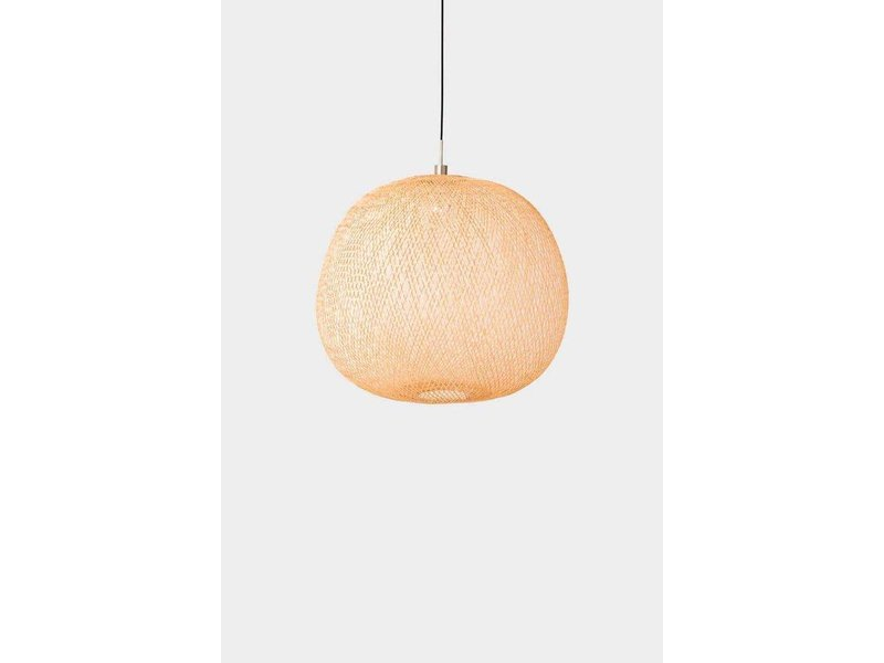 Ay Illuminate Hanglamp Plume medium bamboe ø55cm