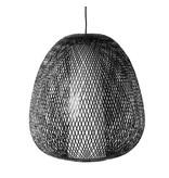 Ay Illuminate Hanglamp Twiggy Egg bruin bamboe ø60cm