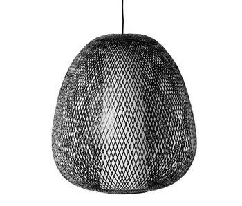 Ay Illuminate Hængelampe Twiggy Æg brun bambus ø60cm