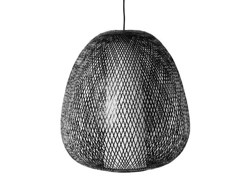 Ay Illuminate Hängande lampa Twiggy Egg brun bambu ø60cm