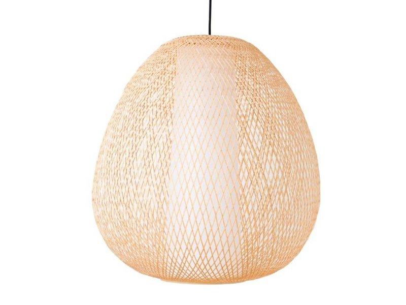 Ay Illuminate Hanglamp Twiggy Egg naturel bamboe ø60cm