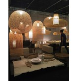 Ay Illuminate Hanging lamp Plume medium bamboo ø55cm