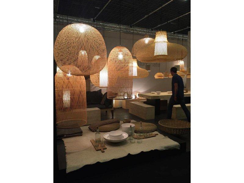 Design Ay Illuminate : Ay illuminate plume hanging lamp small natural bamboo living and co