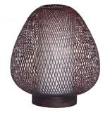 Ay Illuminate Tafellamp Twiggy Egg bruin bamboe ø30cm