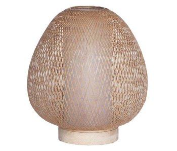 Ay Illuminate Table lamp Twiggy Egg natural bamboo ø30cm