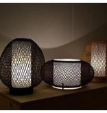Ay Illuminate Bordslampa Twiggy Ägg brun bambu ø30cm