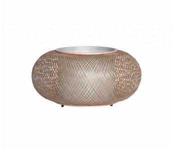 Ay Illuminate Bordlampe Twiggy AL naturlig bambus ø40cm