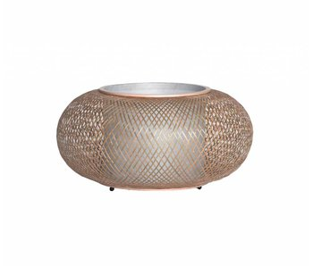 Ay Illuminate Lámpara de mesa Twiggy AL bambú natural ø40cm