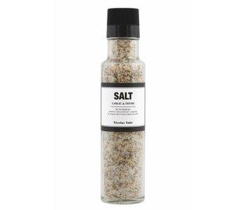 Nicolas Vahé Salt med hvidløg & timian 300g