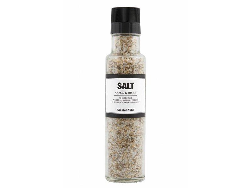 Nicolas Vahé Salt with garlic & thyme 300g