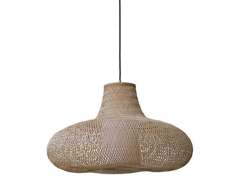 Ay Illuminate Hanglamp May naturel bamboe ø70cm