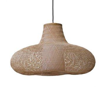 Ay Illuminate Lámpara colgante mayo bambú natural ø95cm