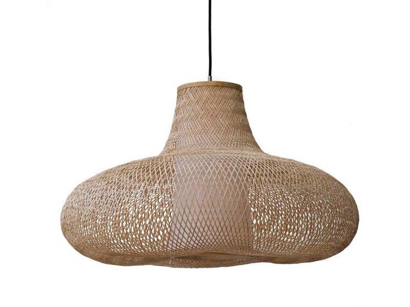 Ay Illuminate Hængelampe Maj naturlig bambus ø95cm