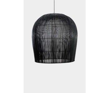 Ay Illuminate Hanging lamp Buri bulb black ø79cm