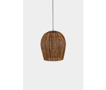 Ay Illuminate Suspension Buri ampoule rotin naturel ø60cm