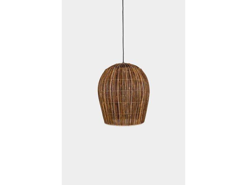 Ay Illuminate Hanging lamp Buri bulb natural rattan ø60cm