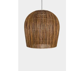 Ay Illuminate Suspension Buri ampoule rotin naturel ø79cm