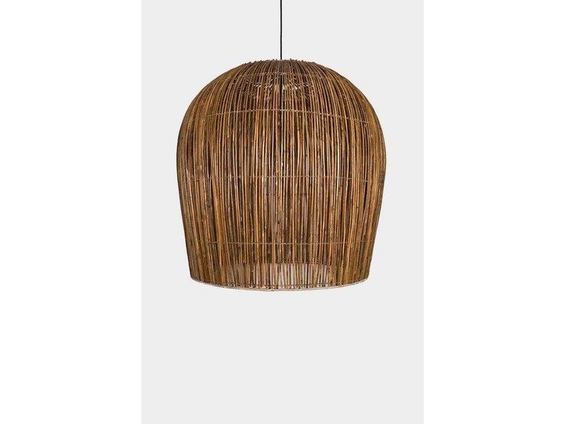 Ay Illuminate Hanging lamp Buri bulb natural rattan ø79cm