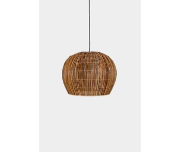 Ay Illuminate Suspension Buri ampoule rotin naturel ø50cm