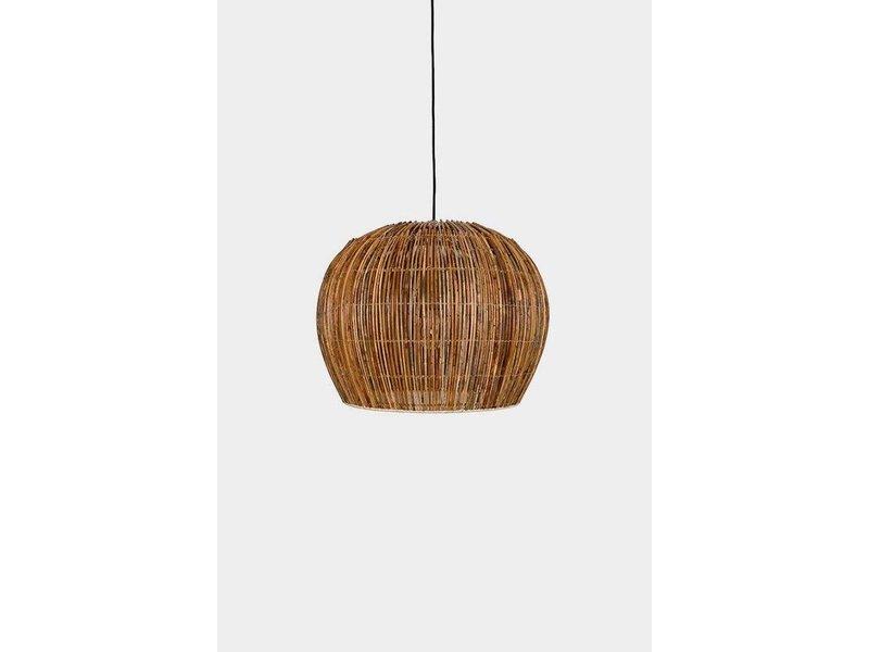 Ay Illuminate Hanging lamp Buri bulb natural rattan ø50cm