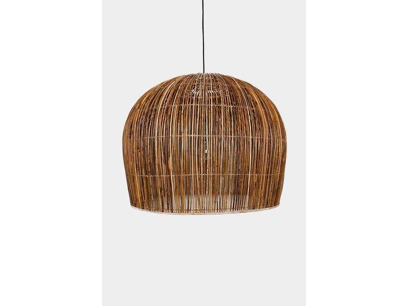 Ay Illuminate Hanging lamp Buri bulb natural rattan ø76cm