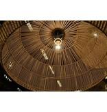 Ay Illuminate Hanging lamp Nama 1 black rattan ø72cm