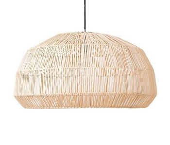 Ay Illuminate Hanging lamp Nama 1 natural rattan ø72cm