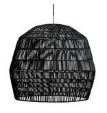 Ay Illuminate Hanglamp Nama 2 zwart rotan ø58cm