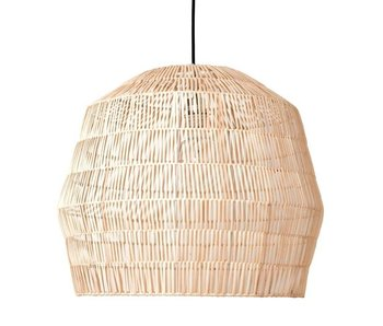 Ay Illuminate Hanging lamp Nama 2 natural rattan ø58cm