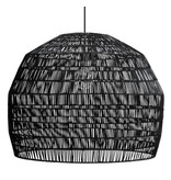 Ay Illuminate Hængelampe Nama 3 sort rotting ø72cm