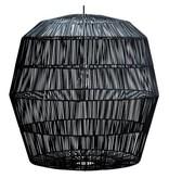 Ay Illuminate Hanglamp Nama 5 zwart rotan ø78cm