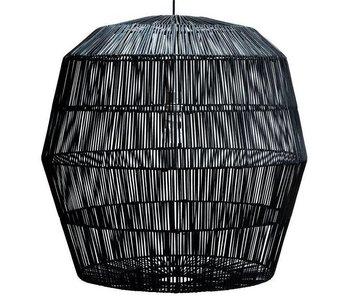 Ay Illuminate Lámpara de suspensión Nama 5 ratán negro ø78cm