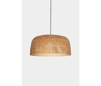 Ay Illuminate Hänglampa Doppio Grid naturlig bambu ø80cm