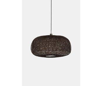 Ay Illuminate Hængelampe Doppio Facet mørk bambus ø78cm