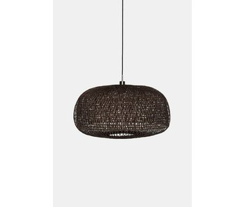 Ay Illuminate Hanging lamp Doppio Facet dark bamboo ø78cm
