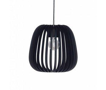 Ay Illuminate Lámpara colgante Bamboo M10 negro ø38cm