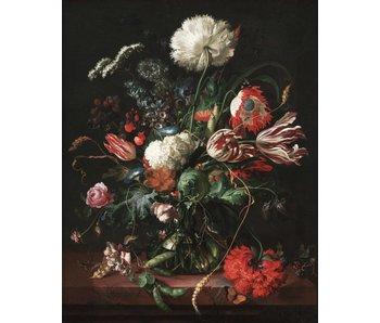 KEK Amsterdam Baggrundspanel Golden Age Flowers