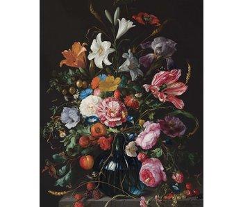 KEK Amsterdam Bakgrundspanel Golden Age Flowers