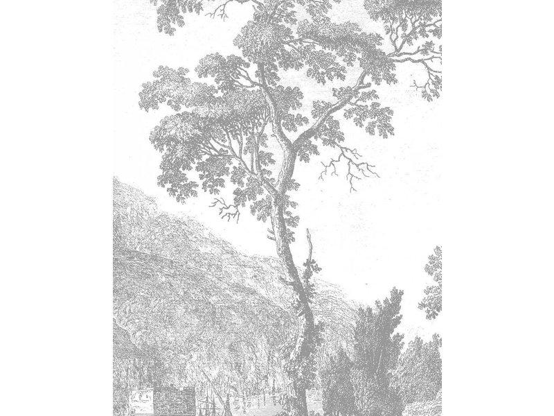 KEK Amsterdam Behangpaneel Engraved Tree