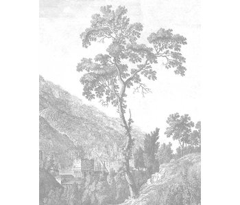 KEK Amsterdam Wallpaper-Panel Gravierter Baum