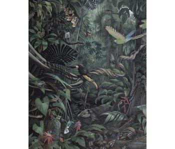 KEK Amsterdam Panneau de papier peint paysage tropical