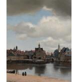 KEK Amsterdam Bakgrundspanel Utsikt över Delft