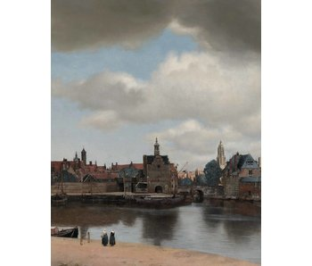 KEK Amsterdam Wallpaper panel View of Delft